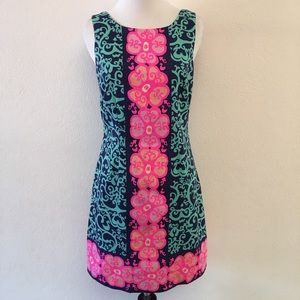 Lilly Pulitzer Sleeveless Floral Dress Size 2